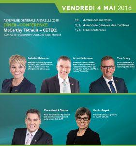 CETEQ - Assemblée générale annuelle 2018 @ CETEQ
