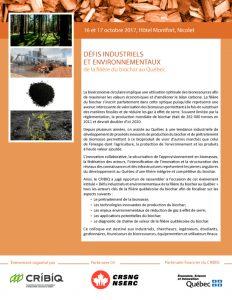 Défis industriels et environnementaux de la filière du biochar au Québec @ Nicolet